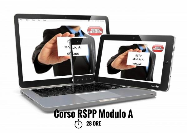 Corso RSPP Modulo A online