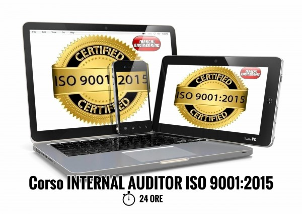 Corso Auditor Interno ISO 9001 online