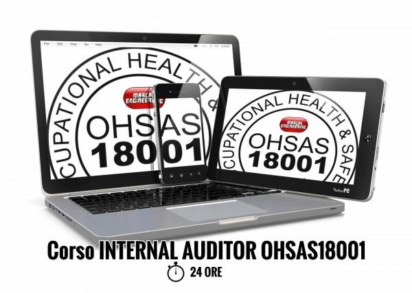 Corso Auditor Interno OHSAS18001 online