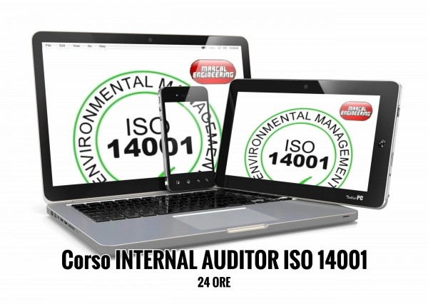 Corso Auditor Interno ISO 14001 online