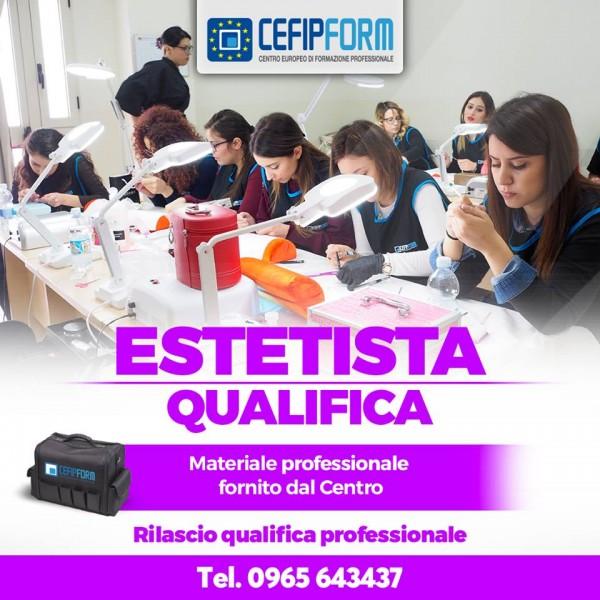 corso di formazione professionale Estetista Qualifica