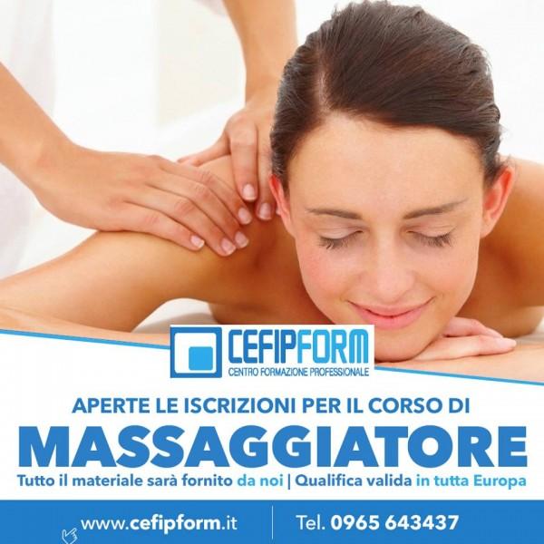corso di formazione professionale di massaggiatore
