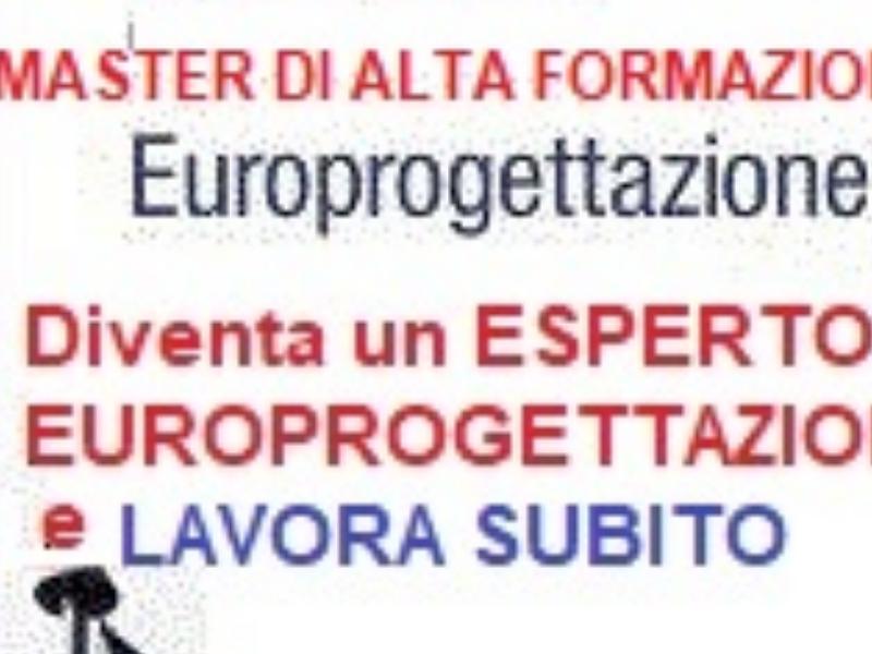 LAVORO PROFESSIONALE di EUROPROGETTISTA https:www.eurotalenti.it    MASTER EUROPROGETTAZIONE