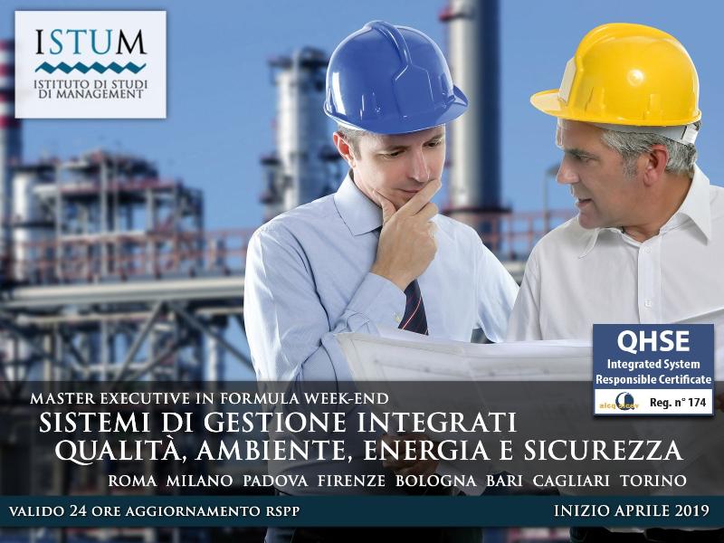 MASGI - Sistemi di Gestione Integrati Qualità, Ambiente, Energia e Sicurezza