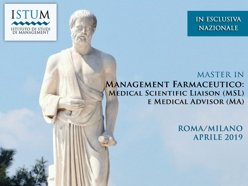 MEMA - Management Farmaceutico: Medical Scientific Liaison (MSL) e Medical Advisor (MA)