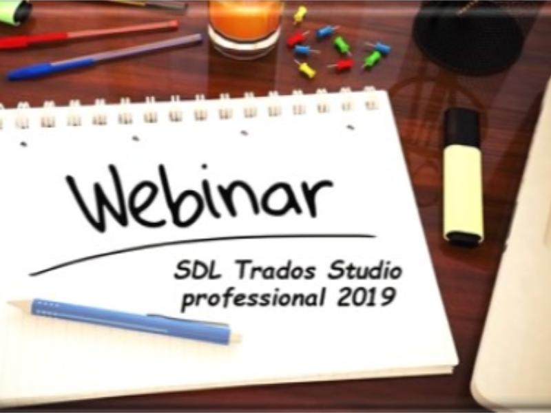 Webinar SDL Studio Trados